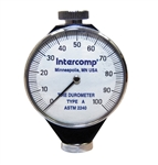 Intercomp 360092 : Analog Durometer, 0 - 100 Points Range, White Face