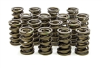 "Isky 9985 : Valve Springs, Dual, 1.560"" O.D., 500 lbs./in. Rate, 1.200"" CBH, Set of 16"