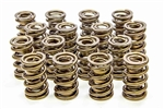 "Isky 9985RAD : Valve Springs, Dual, 1.560"" O.D., 500 lbs./in. Rate, 1.200"" CBH, Set of 16"