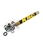 Kluhman 8251 : Lug Nut Foam Rings, Adhesive, Tube of 40