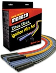 Moroso 73231 Wire Set, Univ, Blk, 90 Deg Boot