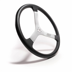 "MPI DMR-17 : Steering Wheel, 17.00"" Diameter, 1.96"" Dish, Foam Grip (Dirt Late Model / Modified)"