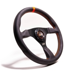 "MPI F-14-C-HG : Steering Wheel, 13.75"" Diameter, 1.25"" Dish, High Grip (Off Road/Drifting)"