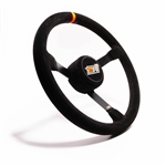 "MPI MP-14-O : Steering Wheel, 14.00"" Diameter, 3.00"" Dish, Suede (Asphalt Stock Car)"
