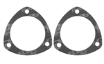"Mr. Gasket 5972 : Collector Gasket, Ultra-Seal, 3-Hole, 3.5"" I.D., Pair"