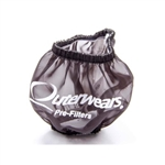 "Outerwears 10-1013-01 : Valve Cover Breather Pre-Filter, 3"" Diameter, 2.5"" Height, Black (W/O Shield)"