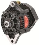 Powermaster 8162 Racing Alternator, Internal Regulator, 50 Amp, Black