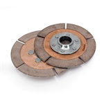 "Quarter Master 225090 : Clutch Disc, 5.5"" Diameter, 1-5/32"" x 26 Spline, Rigid Hub, Universal, Pair"