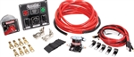 Quickcar 50-831 : Wiring Kit, 4 AWG, Battery Cable, Wire Harness, MDS, Solenoid, 50-822 Panel, and Wire Clamps
