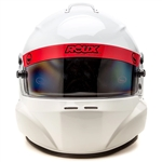Roux Helmets RXHR1F-15W55-XL : Helmet, R-1 Fiberglass, Base Model, Gloss White, X-Large, SA2015