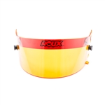 Roux Helmets RXHS01-15999 : Helmet Shield, Amber / Yellow