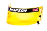 Simpson 1012-17 : Replacement Helmet Shield, Amber, Air Inforcer Shark, SA2015