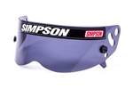 Simpson 1021-12 : Replacement Helmet Shield, Smoke, Diamondback/Speedway RX, SA2015