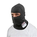 Simpson 23000BK : Fire-Retardant Head Sock, Single-Eye, Black, SFI 3.3