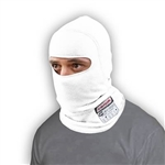 Simpson 23000W : Fire-Retardant Head Sock, Single-Eye, White, SFI 3.3