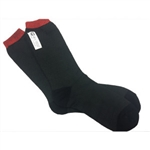 Simpson 23029C : Fire-Retardant Socks, Black, One Size Fits All, SFI 3.3