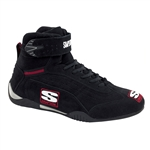 Simpson AD100BK : Driving Shoes, Adrenaline, Black, Size 10.0, SFI 3.3/5