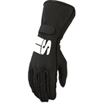 Simpson IMSK : Driving Gloves, Impulse, Black, Small, SFI 3.3/5