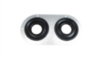 Seals-It GS1003-2H-10 Grommet Seal, Double Series 0.625 Hole