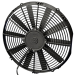 SPAL 30100385 Electric Fan, 14 Inch, Pull Style - Curved Blades