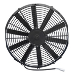 SPAL 30100400 Electric Fan, 16 Inch, Pull Style - Straight Blades