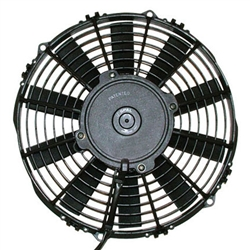 SPAL 30101505 Electric Fan, 12 Inch, Push Style - Straight Blades