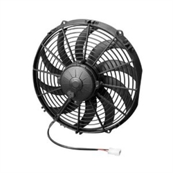 SPAL 30102029 Electric Fan, 12 Inch, Pull Style - Curved Blades