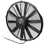 SPAL 30102041 Electric Fan, 14 Inch, Pull Style - Straight Blades