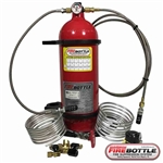 Firebottle AMRC-1002 10lb Automatic Manual Pull System for Lucas Oil Dirt Late Model Series