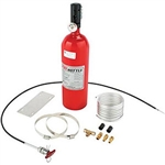 Fire Bottle RC-500 5lb Bottle Manual Pull Cable Dupont FE36