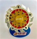 Ultra Cool ALMBFW5 : Brake Fan, Aluminum, Wide 5