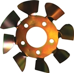"Ultra Cool LMBFS5-625 : Brake Fan, Steel, Small 5, 5/8"" Studs"