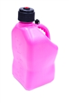 VP Racing Fuels 3812 : Utility Jug, 5 Gallons, Square, Plastic, Pink