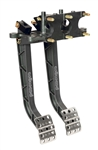 Wilwood 340-11299 : Brake / Clutch Pedals, Reverse Mount, Aluminum, Black