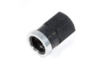 "Winters 7794ASBK : Quick Change Cover Nut, Short, 3/8""-16 Thread"