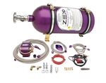 Zex 82217 : Nitrous Oxide System, Wet, 75-175 HP, 10 lb. Bottle, Purple, Ford 4.6L