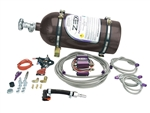 Zex 82322B : Nitrous Oxide System, Blackout, Wet, 75-175 HP, 10 lb. Bottle, Black, Dodge 5.7 & 6.1L