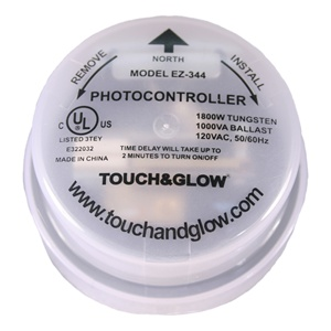 Low Profile 240-277V Twist-Lock Photo Control