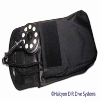 Bellowed pocket, Velcro Factory 2nd 40.030.011  *Buy at DIVESEEKERS.com 888-SCUBA-47