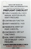 TDI CCR Preflight Checklist - 110525 Buy at DIVESEEKERS.com 888-SCUBA-47