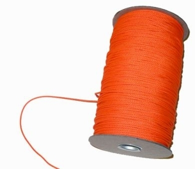 # 24 braided nylon line, orange 600' Average length  *Buy at DIVESEEKERS.com 888-SCUBA-47
