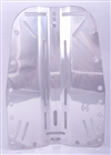 Hollis Stainless Steel Backplate *Buy Hollis at DIVESEEKERS.com 888-SCUBA-47