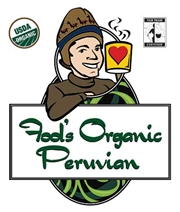 Fool's Organic Fair Trade Peruvian / 12oz