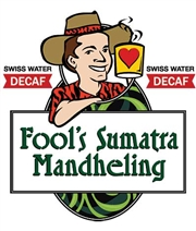 Fool's Decaf Swiss Water Sumatra Mandheling / 12oz