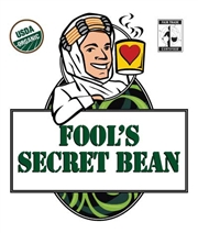 Fool's Organic Fair Trade Secret Bean / 12oz