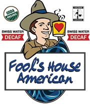 Fool's Decaf Organic Fair Trade House American / 12oz