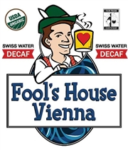 Fool's Decaf Organic Fair Trade House Vienna / 11oz