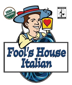 Fool's Organic Fair Trade House Italian Pods - 18 Single Serve