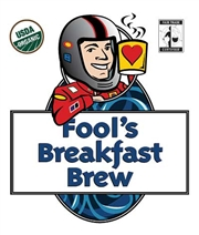 Fool's Organic Fair Trade Breakfast Brew / 12oz