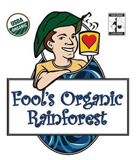 Fool's Organic Fair Trade Rainforest / 11oz